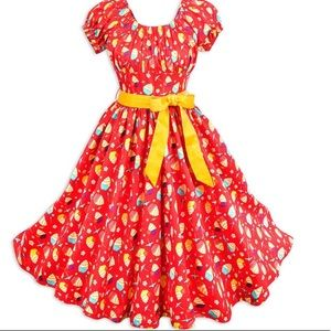 Disney Pineapple swirl dress